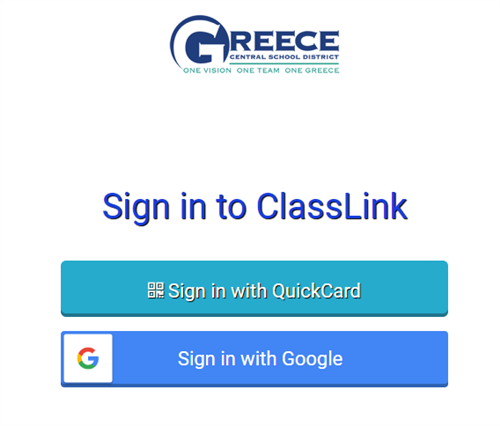 Classlink - click to log on