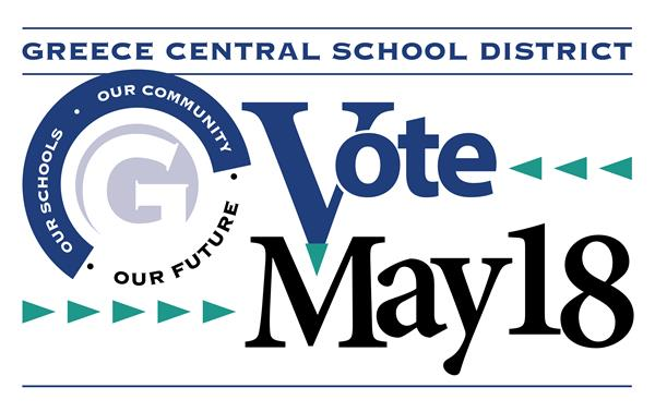 Vote May 18 sign