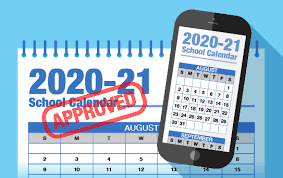 2020-21 Greece Central Calendar Approved